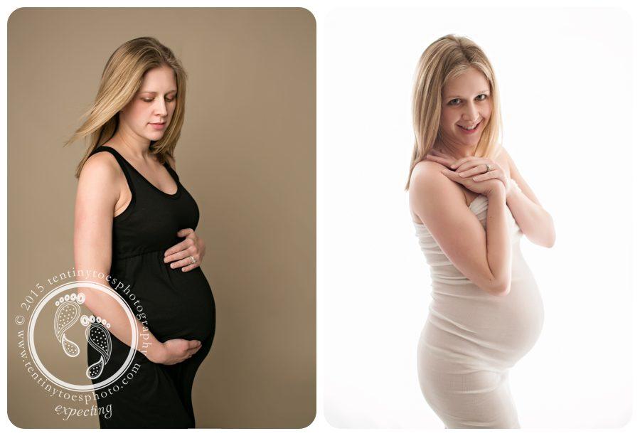 Twin Cities maternity photos - Ten Tiny Toes photography