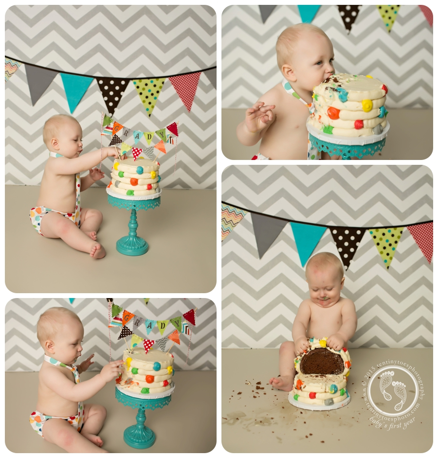 1st Birthday Cake Smash photos