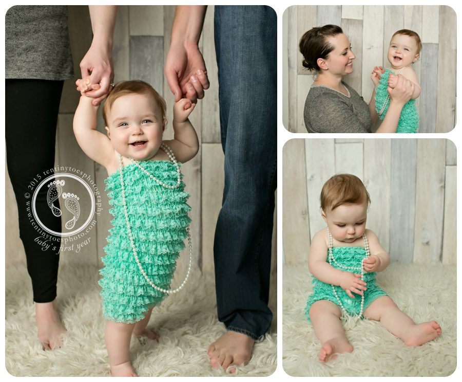 6 month baby photos - Ten Tiny Toes Photography
