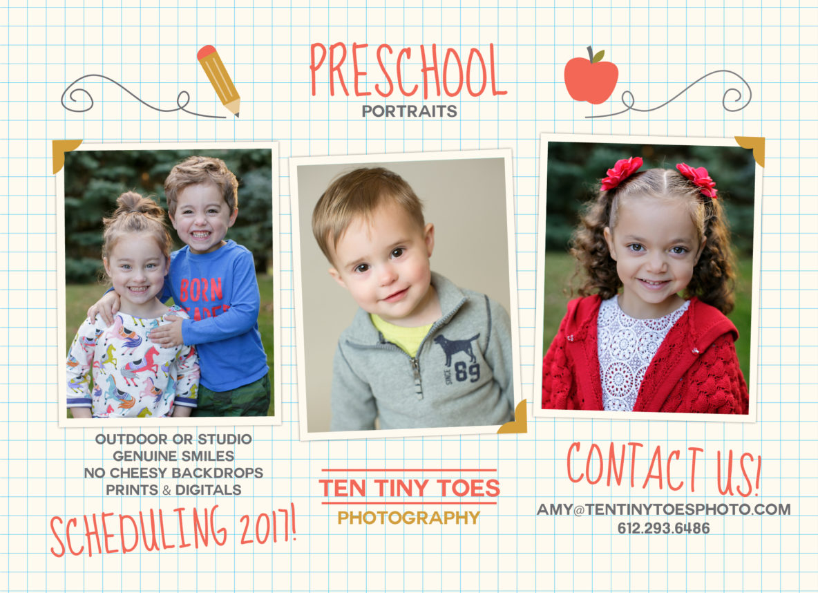 Twin Cities Preschool Portraits