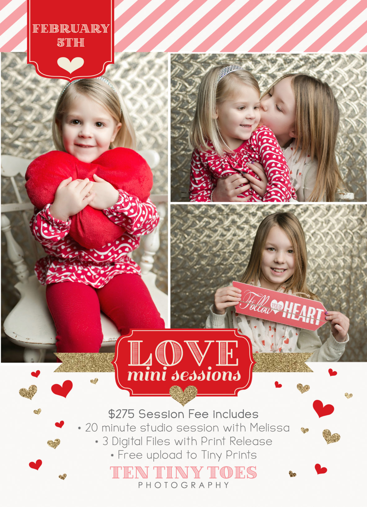 MN Valentine Mini Sessions - Ten Tiny Toes
