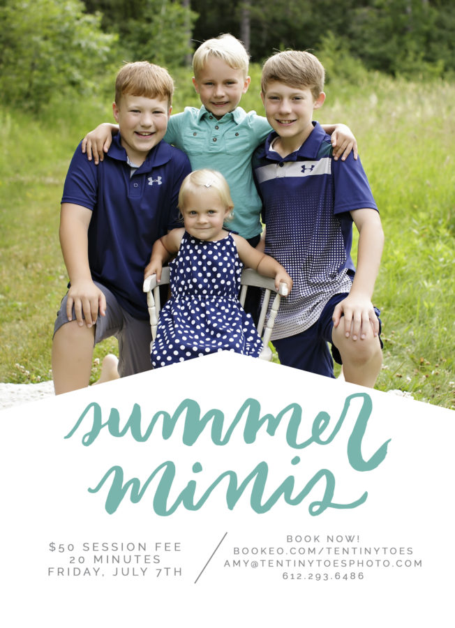 2017 Sumer Mini Sessions
